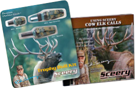 Trophy Bull Elk Kit with DVD